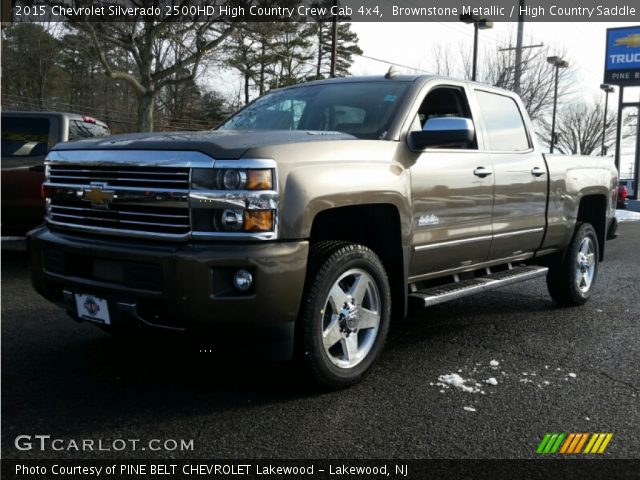 brownstone metallic 2015 chevrolet silverado 2500hd high country crew cab 4x4 high country. Black Bedroom Furniture Sets. Home Design Ideas