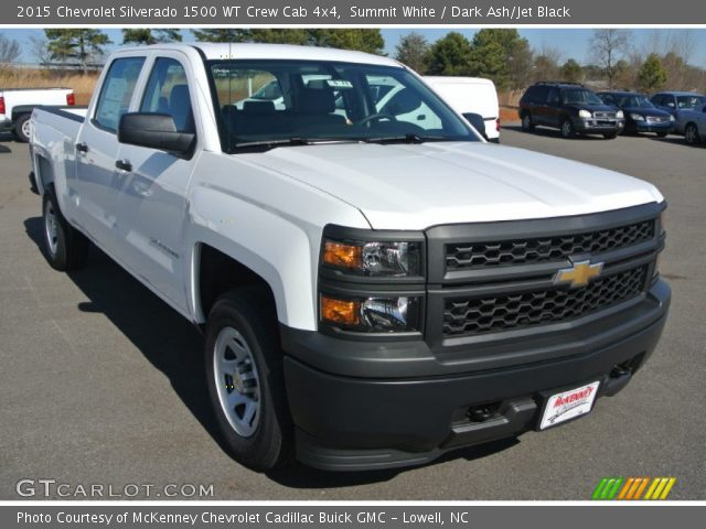 2015 Chevrolet Silverado 1500 WT Crew Cab 4x4 in Summit White