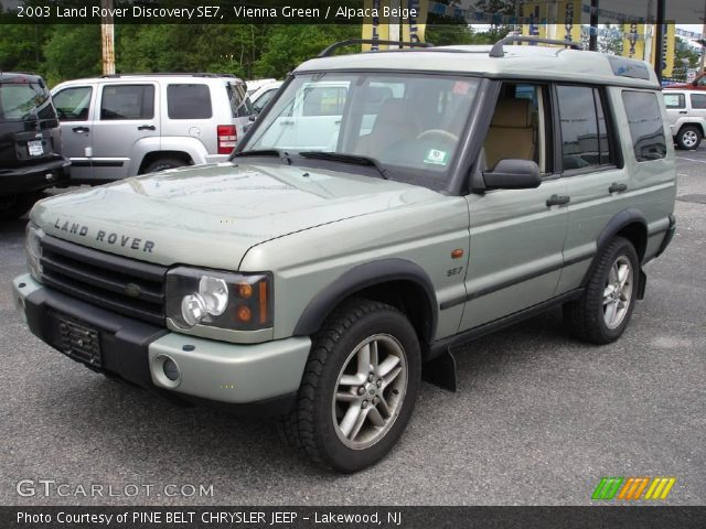 vienna green 2003 land rover discovery se7 alpaca beige interior vehicle. Black Bedroom Furniture Sets. Home Design Ideas