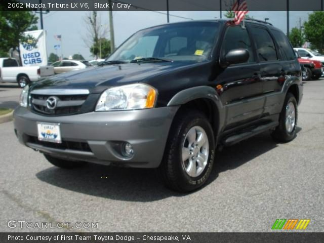 black 2002 mazda tribute lx v6 gray interior. Black Bedroom Furniture Sets. Home Design Ideas