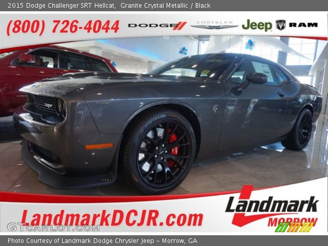 granite crystal metallic 2015 dodge challenger srt. Black Bedroom Furniture Sets. Home Design Ideas