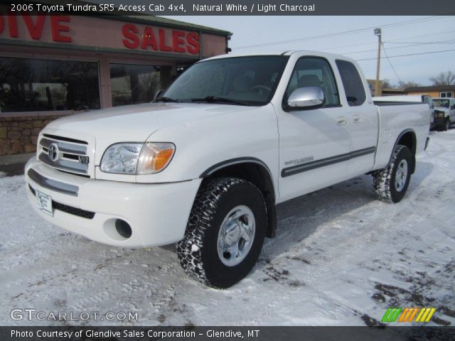 natural white 2006 toyota tundra sr5 access cab 4x4 light charcoal interior. Black Bedroom Furniture Sets. Home Design Ideas
