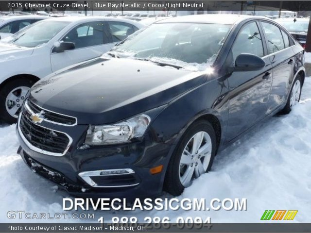 2015 Chevrolet Cruze Diesel in Blue Ray Metallic