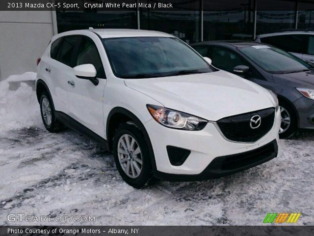 2013 Mazda CX-5 Sport in Crystal White Pearl Mica