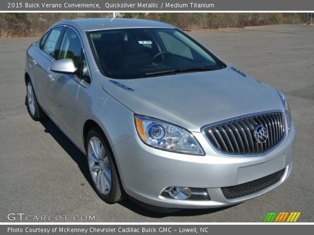 2015 Buick Verano Convenience in Quicksilver Metallic