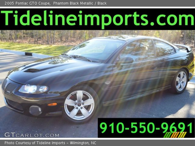 2005 Pontiac GTO Coupe in Phantom Black Metallic
