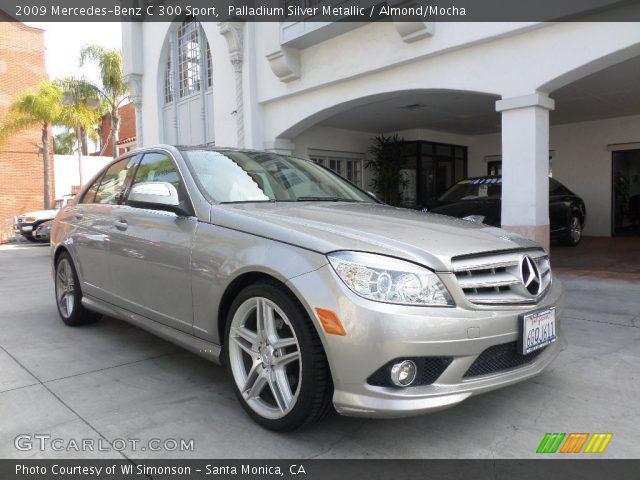 Palladium silver metallic 2009 mercedes benz c 300 sport for 2009 mercedes benz c 300