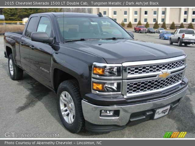 2015 Chevrolet Silverado 1500 LT Double Cab in Tungsten Metallic