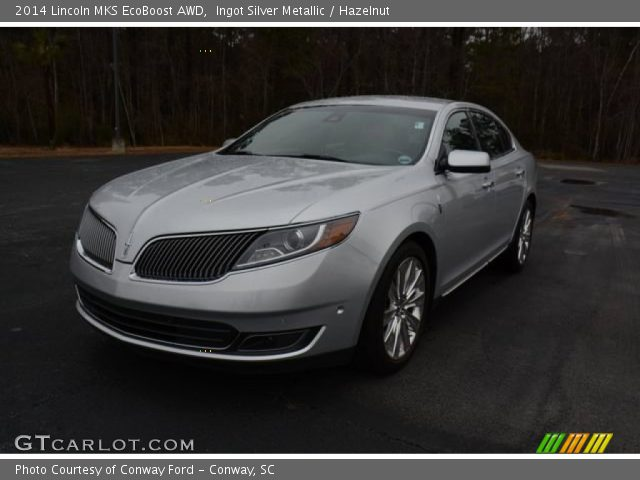 2014 Lincoln MKS EcoBoost AWD in Ingot Silver Metallic
