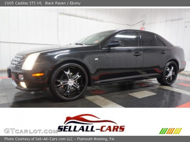 2005 Cadillac STS V6 in Black Raven