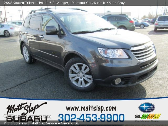 2008 Subaru Tribeca Limited 5 Passenger in Diamond Gray Metallic