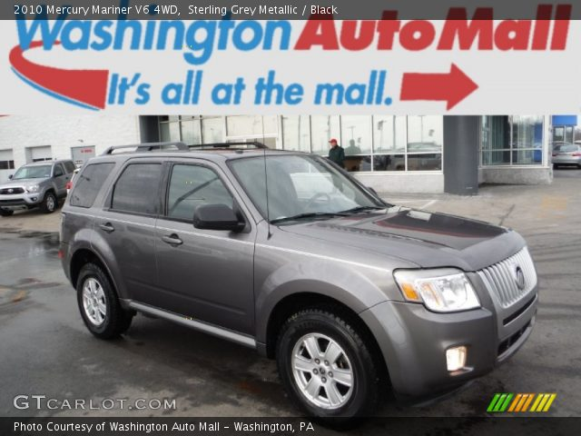 2010 Mercury Mariner V6 4WD in Sterling Grey Metallic
