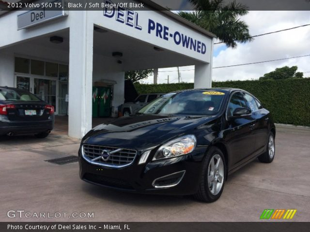 2012 Volvo S60 T5 in Black