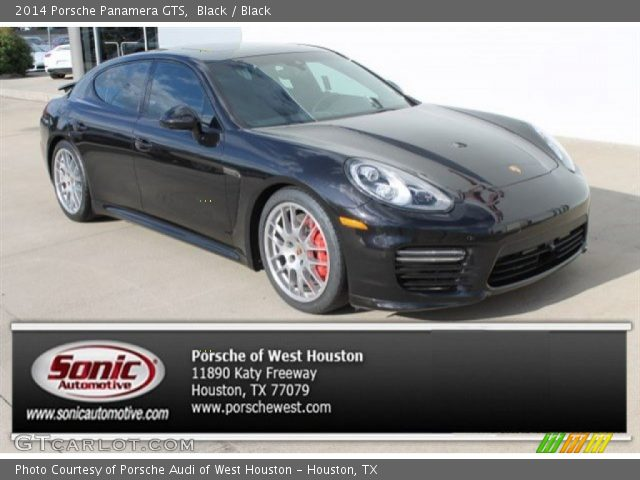 2014 Porsche Panamera GTS in Black