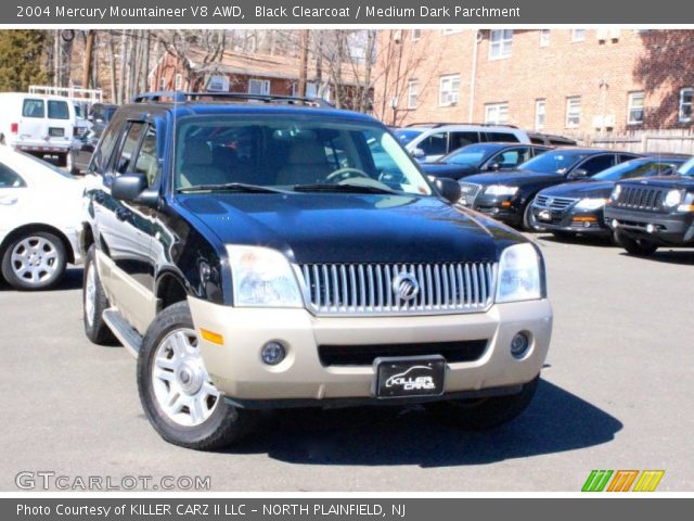 2004 Mercury Mountaineer V8 AWD in Black Clearcoat