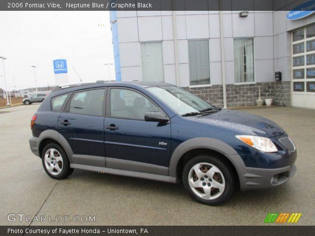 2006 Pontiac Vibe  in Neptune Blue