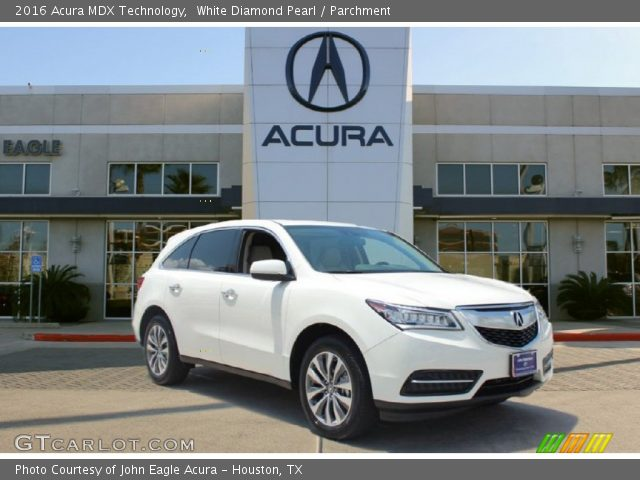 white diamond pearl 2016 acura mdx technology. Black Bedroom Furniture Sets. Home Design Ideas