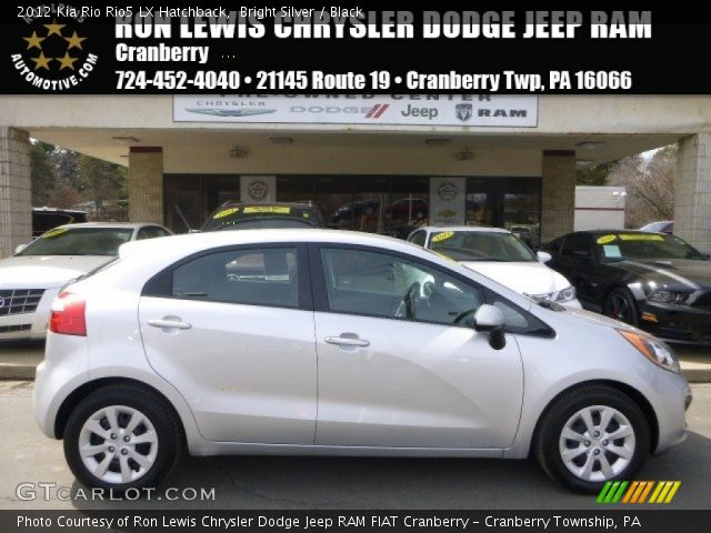 2012 Kia Rio Rio5 LX Hatchback in Bright Silver
