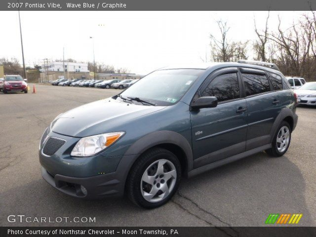 2007 Pontiac Vibe  in Wave Blue