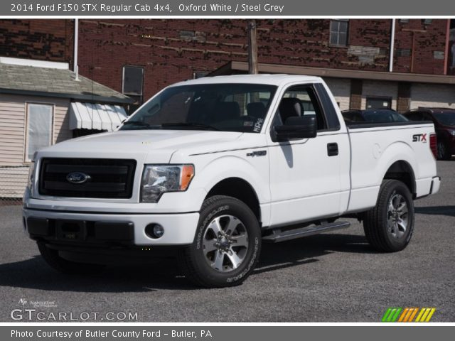 2014 Ford F150 STX Regular Cab 4x4 in Oxford White