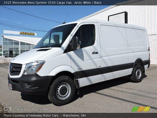2015 Mercedes-Benz Sprinter 2500 Cargo Van in Arctic White
