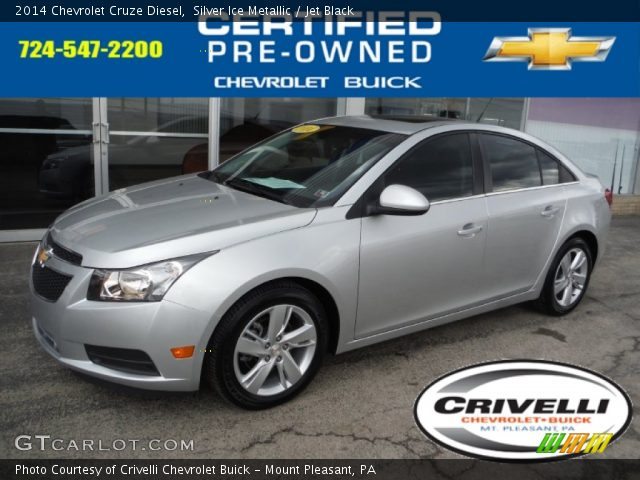 2014 Chevrolet Cruze Diesel in Silver Ice Metallic