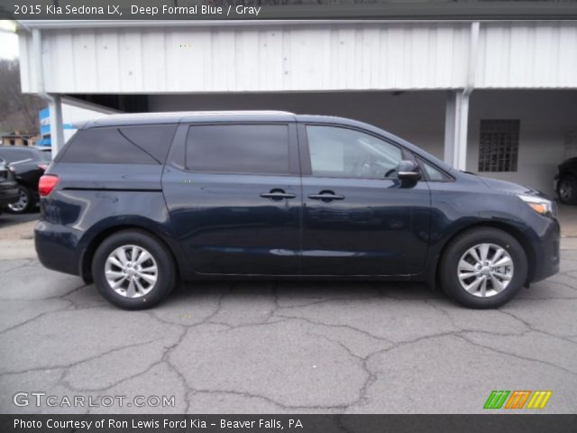 2015 Kia Sedona LX in Deep Formal Blue
