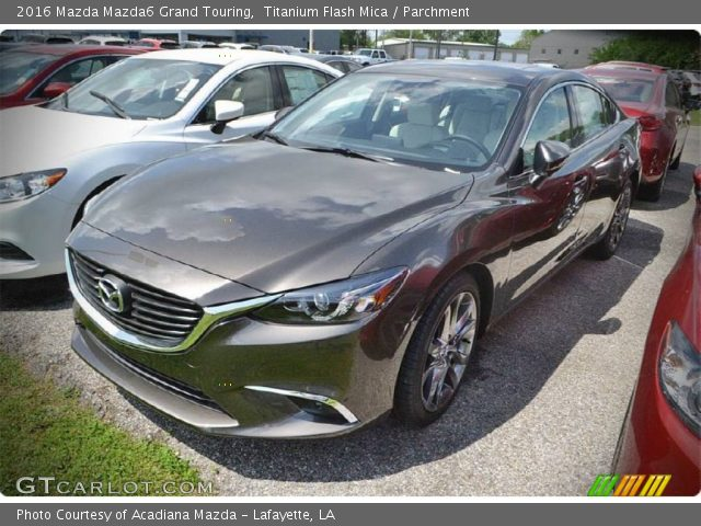 2016 Mazda Mazda6 Grand Touring in Titanium Flash Mica