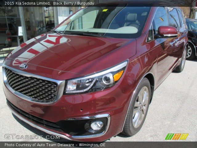 2015 Kia Sedona Limited in Black Berry
