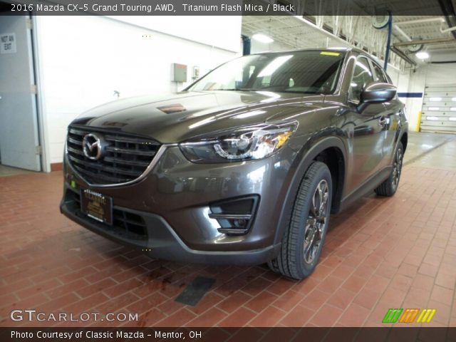 2016 Mazda CX-5 Grand Touring AWD in Titanium Flash Mica