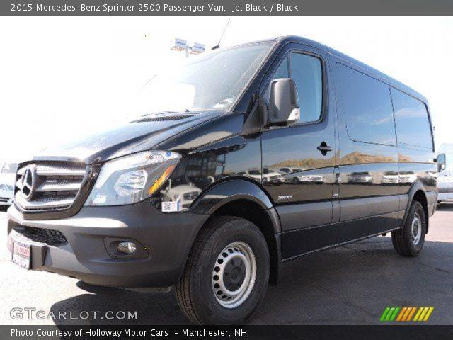 2015 Mercedes-Benz Sprinter 2500 Passenger Van in Jet Black