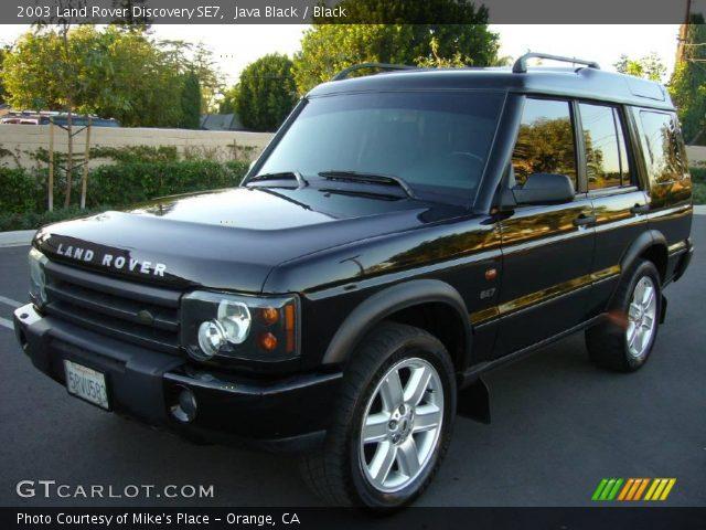java black 2003 land rover discovery se7 black interior vehicle archive. Black Bedroom Furniture Sets. Home Design Ideas