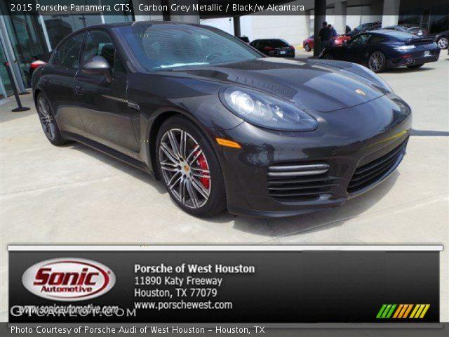 2015 Porsche Panamera GTS in Carbon Grey Metallic