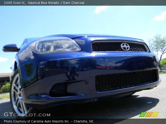 2006 Scion tC  in Nautical Blue Metallic