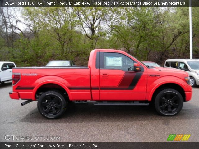 2014 Ford F150 FX4 Tremor Regular Cab 4x4 in Race Red