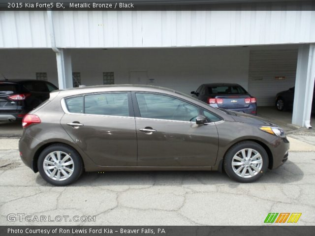 2015 Kia Forte5 EX in Metallic Bronze