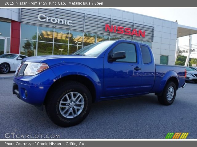 metallic blue 2015 nissan frontier sv king cab steel. Black Bedroom Furniture Sets. Home Design Ideas