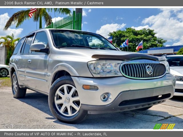 2006 Buick Rainier CXL AWD in Platinum Metallic