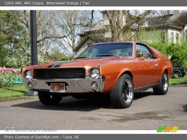 1969 AMC AMX Coupe in Bittersweet Orange