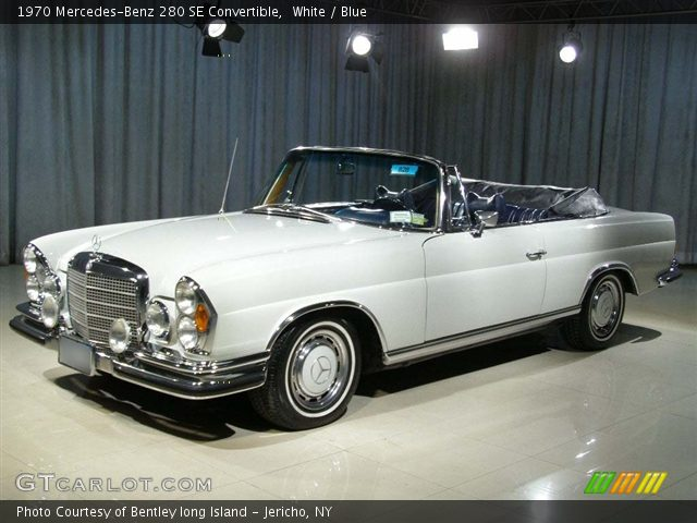 1970 Mercedes-Benz 280 SE Convertible in White