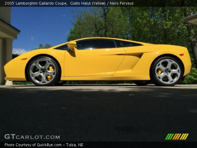 2005 Lamborghini Gallardo Coupe in Giallo Halys (Yellow)