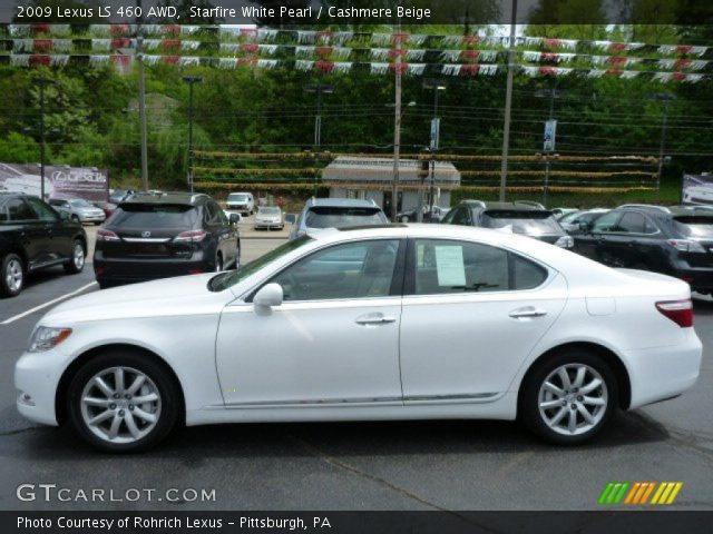 starfire white pearl 2009 lexus ls 460 awd cashmere. Black Bedroom Furniture Sets. Home Design Ideas