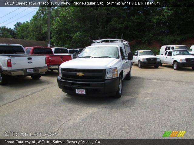 2013 Chevrolet Silverado 1500 Work Truck Regular Cab in Summit White