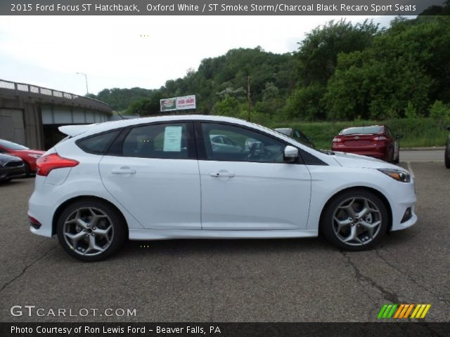 2015 ford focus st hatchback in oxford white - 2015 Ford Focus St White