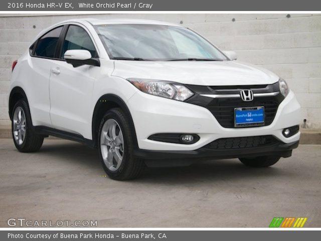 2016 Honda HR-V EX in White Orchid Pearl