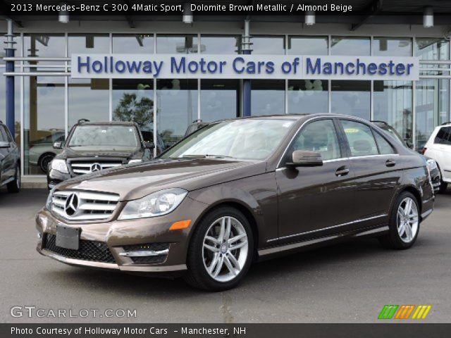 Dolomite brown metallic 2013 mercedes benz c 300 4matic for Mercedes benz genuine polar white touch up paint code 149