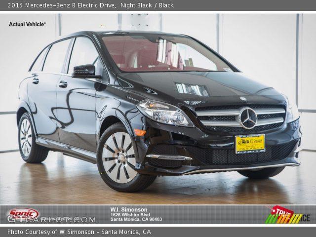 2015 Mercedes-Benz B Electric Drive in Night Black