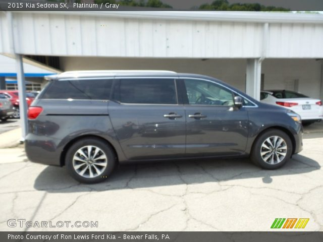 2015 Kia Sedona SX in Platinum