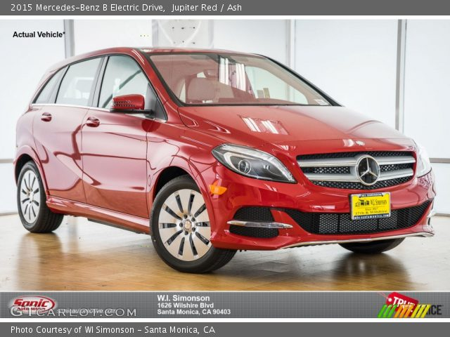 2015 Mercedes-Benz B Electric Drive in Jupiter Red