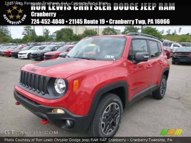 2015 Jeep Renegade Trailhawk 4x4 in Colorado Red